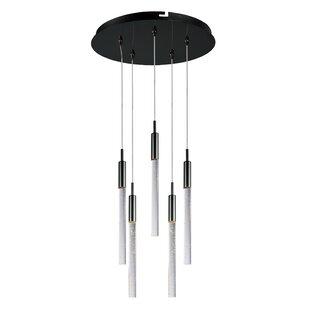Orren Ellis Buie 5-Light LED Pendant