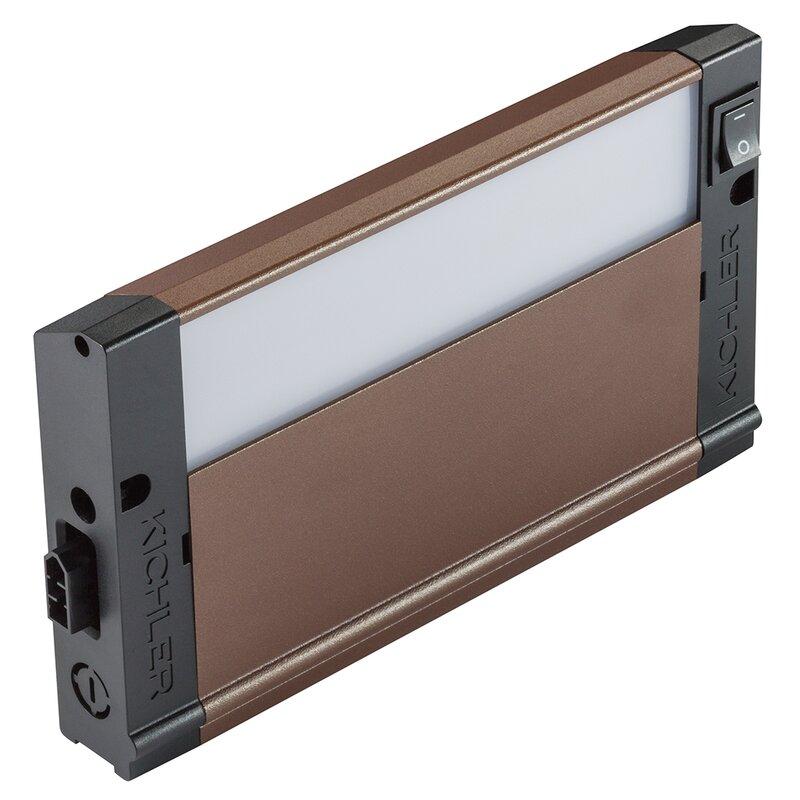 Kichler 4u Series 2700k Led 8 Under Cabinet Bar Light Reviews Wayfair