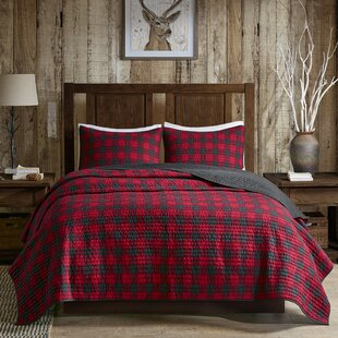 Woolrich Check 3 Piece Quilt Set