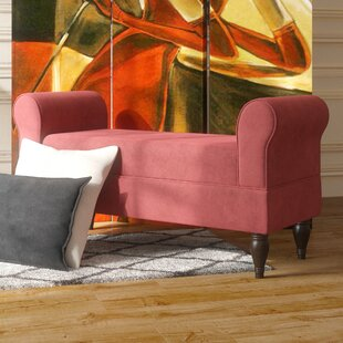Brockdale Upholstered Bench by Willa Arlo Interiors