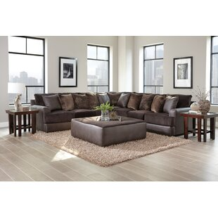 Latitude Run Sydney Reversible Sectional with Ottoman