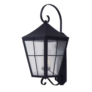 Reviews Albrecht Traditional 1-Light Outdoor Wall Lantern By Bloomsbury Market