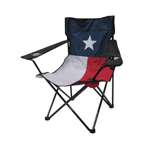 Kenisha Flag Folding Camping Chair