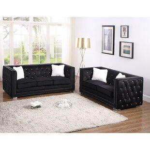 House of Hampton Lehmann 2 Piece Living R..