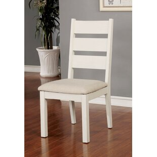 Ponder Upholstered Dining Chair (Set of 2) August Grove