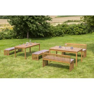 Jake 12 Seater Dining Set With Cushions Image