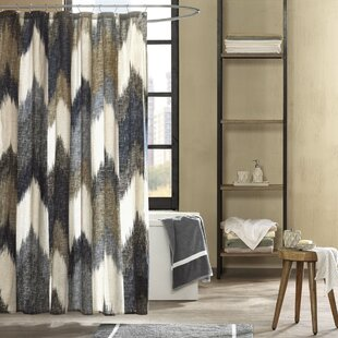 Mcshan Cotton Printed Shower Curtain