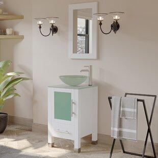 Seeber 17.25 Single Bathroom Vanity Set with Mirror by Latitude Run