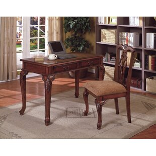 Astoria Grand Tolliver Writing Desk and Chair Set