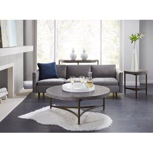 17 Stories Dirksen 3 Piece Coffee Table Set