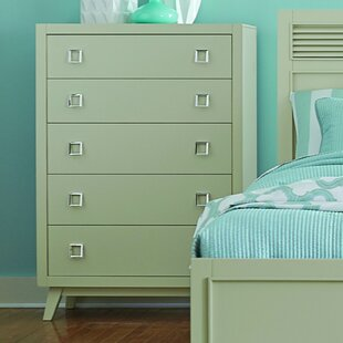 Brayden Studio Hagerty 5 Drawer Chest