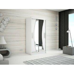 Merete 2 Door Wardrobe By Ebern Designs
