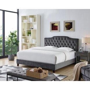 Leyva Upholstered Panel Bed by Alcott Hill