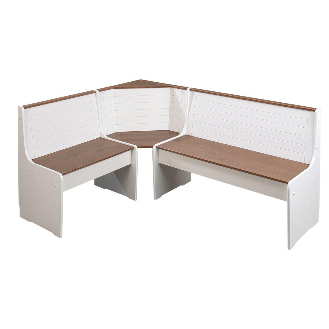 Boxborough Wood Storage Bench