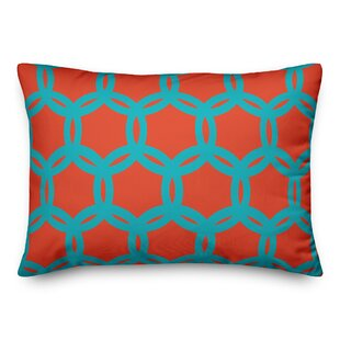 Lindholm Geo Pattern Outdoor Lumbar Pillow