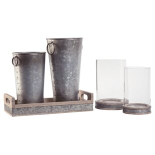 Trujillo 5 Piece Table Vase Set