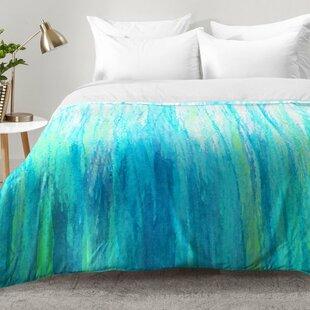 East Urban Home Aqua Stream Comforter Set