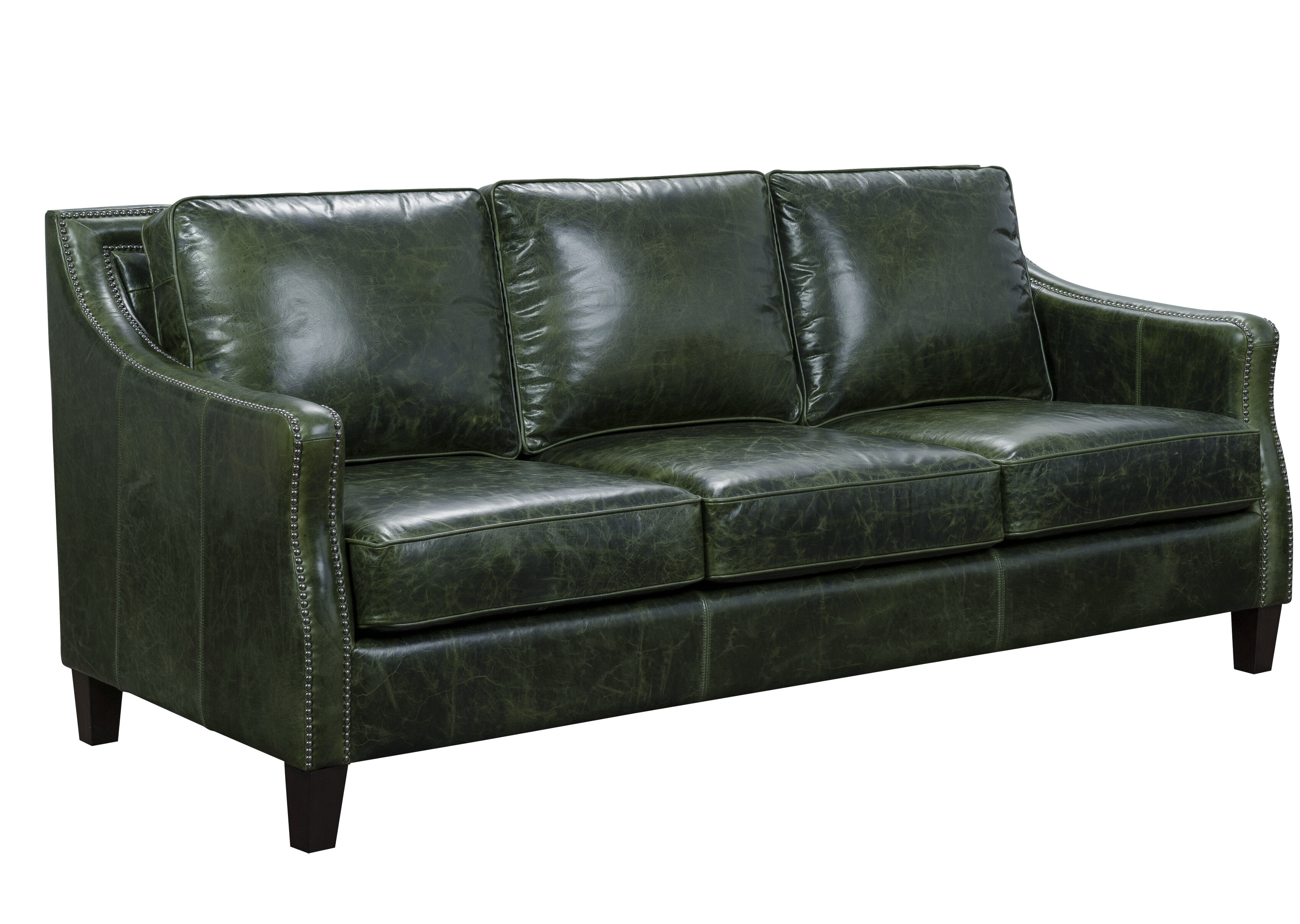Marvelous Canora Grey Barrington Leather Sofa Wayfair Pabps2019 Chair Design Images Pabps2019Com