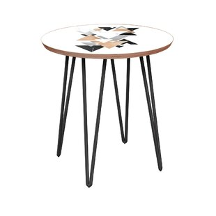 Great choice Billings End Table by Bungalow Rose