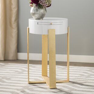 Pavonia End Table by Willa Arlo Interiors