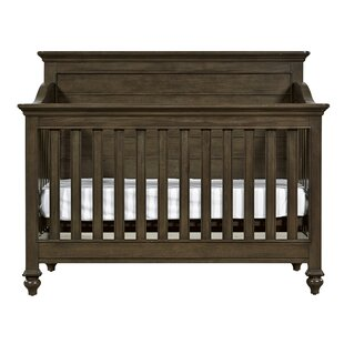 Reviews Litzy 4-in-1 Convertible Crib By Harriet Bee