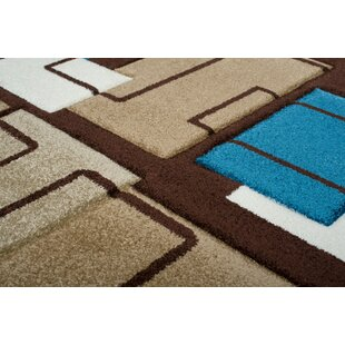 Amatrix Brown Area Rug by Home & Haus