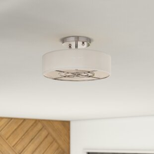 Krawczyk 3-Light Semi Flush Mount by Mercury Row