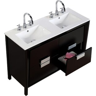 48 inch bathroom vanity double sink. 48  Double Sink Vanity Set Inch Wayfair