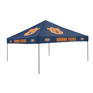 Collegiate 9 Ft. W x 9 Ft. D Steel Pop-Up Canopy - Auburn by Logo Brands