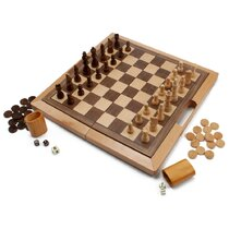 Checkers Pieces Classic Game Tables You'll Love in 2021 | Wayfair