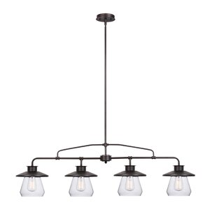 De Long 4-Light Kitchen Island Pendant