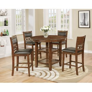 Cally Counter Height Upholstered Dining Chair (Set Of 4) by Crown Mark 2019 Salet