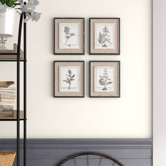 4 Piece Picture Frame Gallery Wall