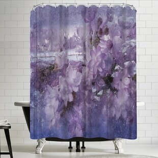 Zina Zinchik The Smell of Spring 2 Single Shower Curtain
