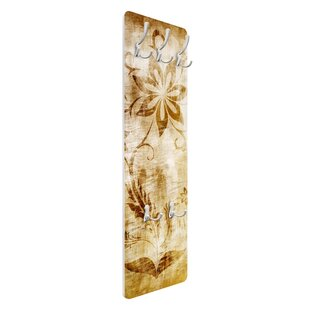 Wooden Flower Wall Mounted Coat Rack By Symple Stuff