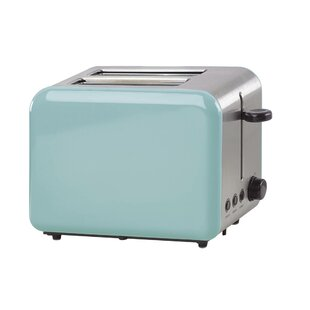 2 Slice All in Good Taste Turquoise Toaster