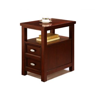 Kroeker End Table with Storage by Alcott Hill