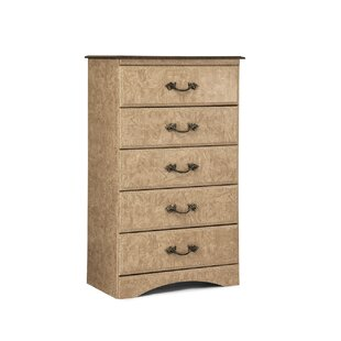 Kiel 5 Drawer Standard Dresser/Chest