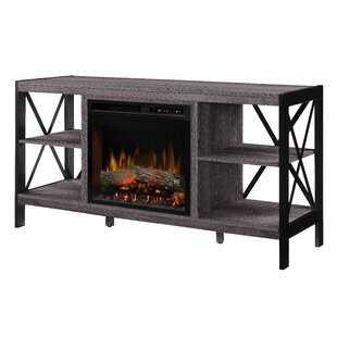 Ramona 65 TV with Electric Fireplace by Dimplex