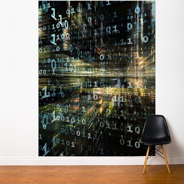 Ebern Designs Nordham In The Matrix Wall Mural Wayfair
