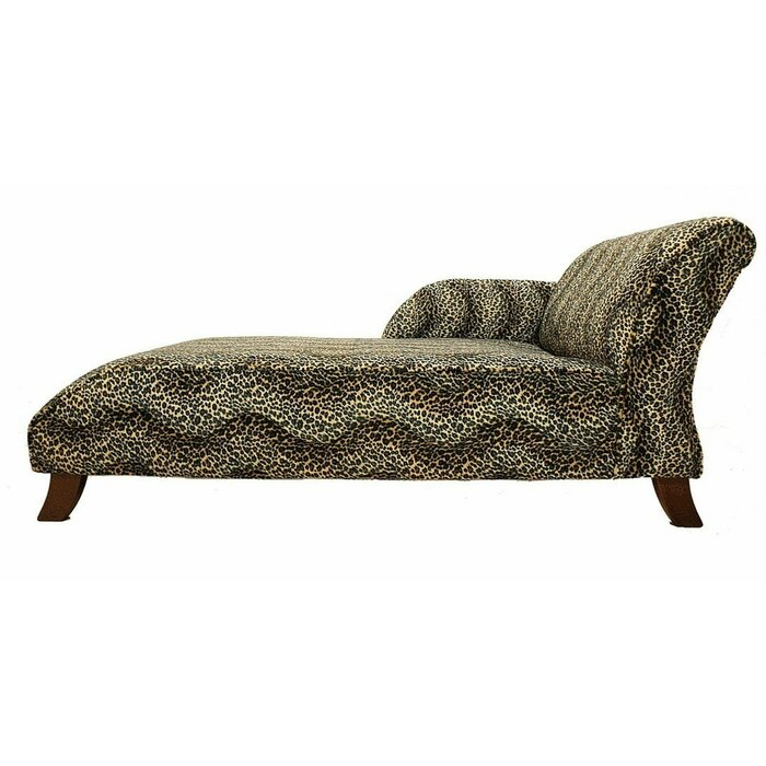 Terrific Ayon Animal Printed Chaise Lounge Andrewgaddart Wooden Chair Designs For Living Room Andrewgaddartcom