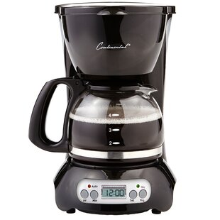 Continental Electric 4-Cup Coffee Maker