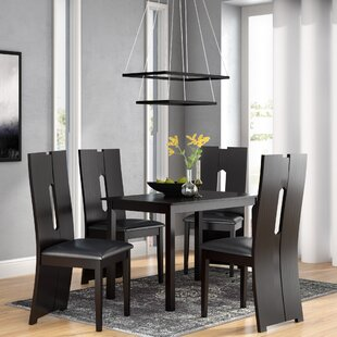 Onsted Modern and Contemporary 5 Piece Breakfast Nook Dining Set Orren Ellis