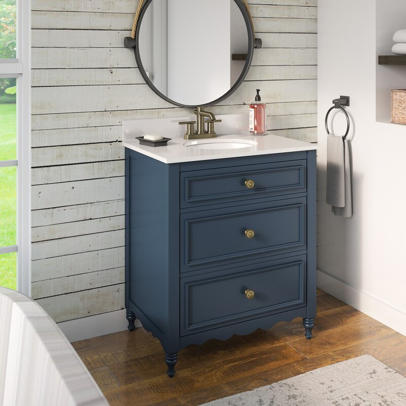 Andover Mills Bragenham 30 Single Bathroom Vanity Set Reviews Wayfair
