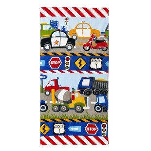 Kaylie Trucks Cotton Bath Towel