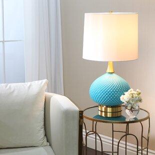 Pratt Cut Glass Round 28 Table Lamp