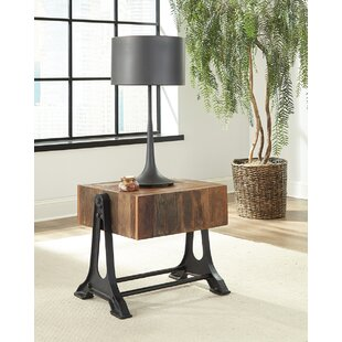 Gracie Oaks Steinbach End Table
