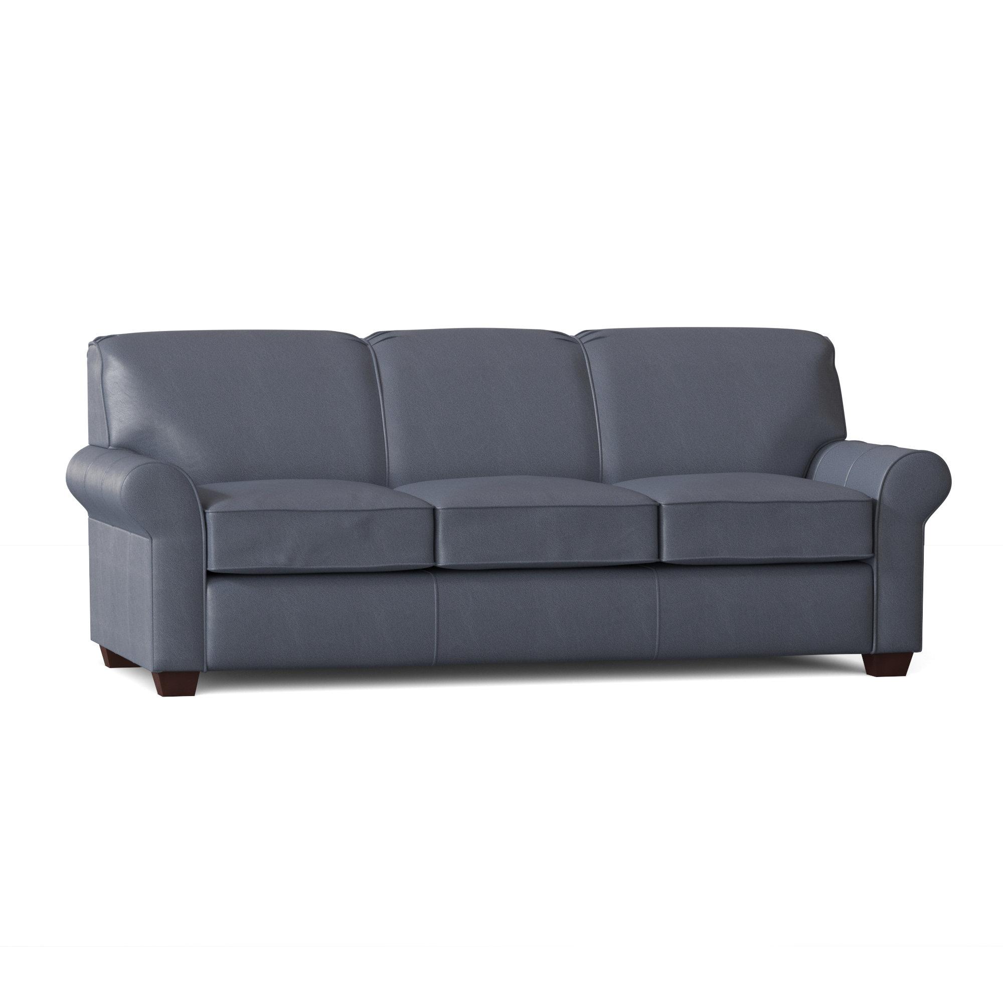 - Wayfair Custom Upholstery Jennifer Genuine Leather 81