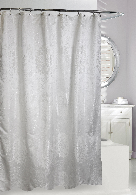 House Of Hampton Addilynn Jacquard Single Shower Curtain Wayfair