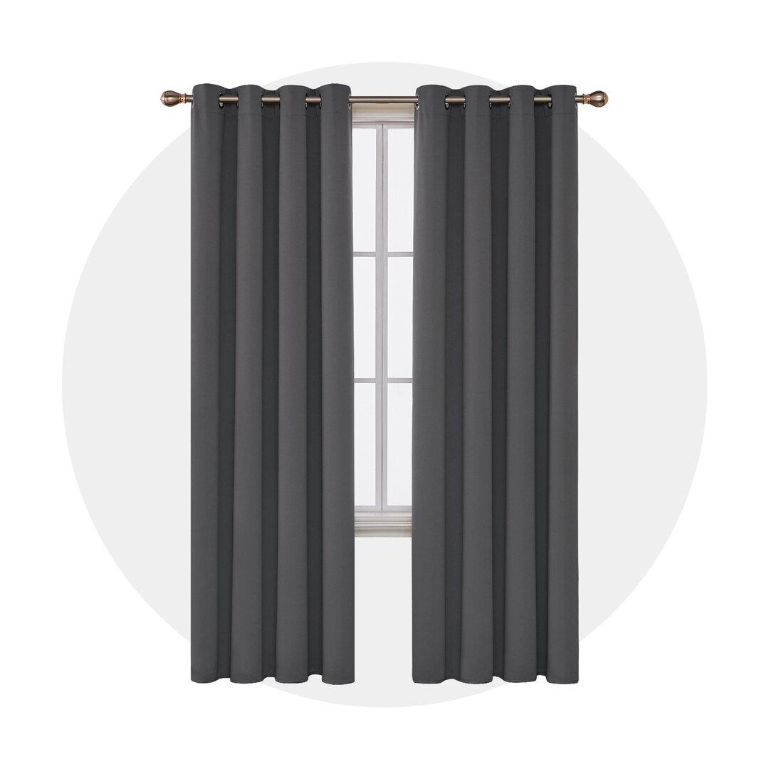 Cabrera Eyelet Blackout Thermal Curtains